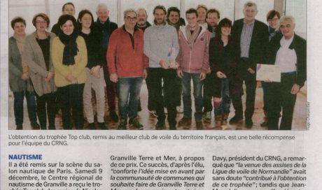 Le CRNG première école de voile française