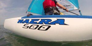 Nouveauté 2018 ! Catamaran Nacra 500