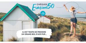 Le CRNG est partenaire de l'opération CHEQUES EVASION 50 !